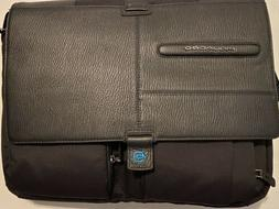 Piquadro Fabric And Leather Briefcase